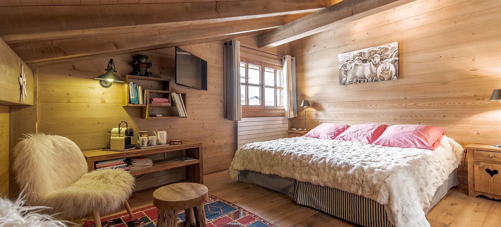 Chambre d'hôtes à Megève - Haute Savoie - Mont Blanc - 74